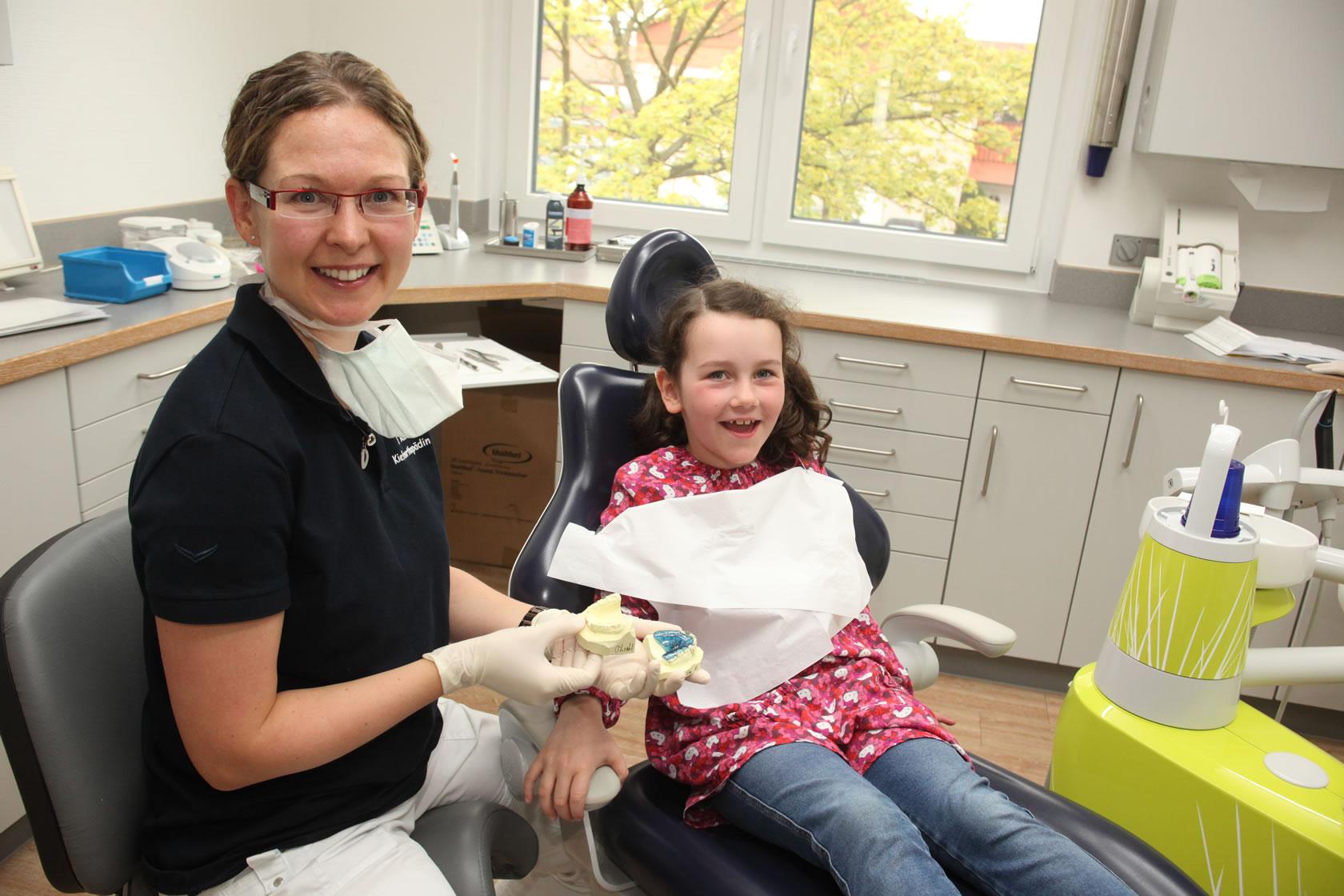 Zahnarztpraxis Riehl - Wabern - Kinderzahnheilkunde